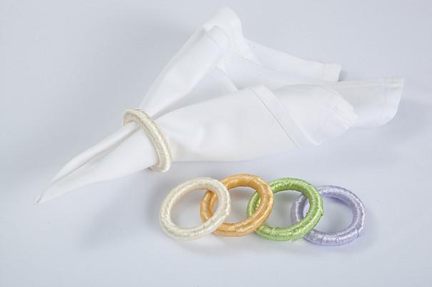 Spalvotų žiedų servetėlėms nuoma