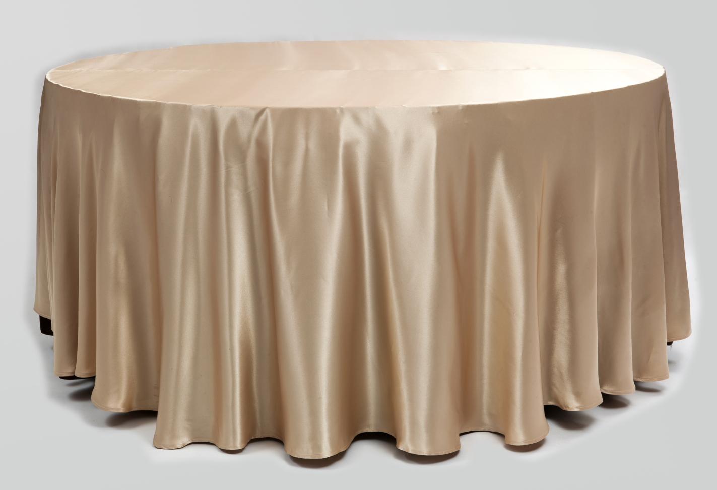 Auksinės spalvos staltiesė