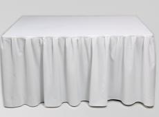 Baltas sijonas stalui